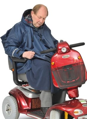 Mobility poncho 3 in 1 met mouwen
