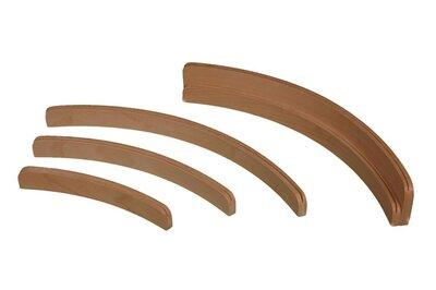 Kaartenstandaard hout 25 cm