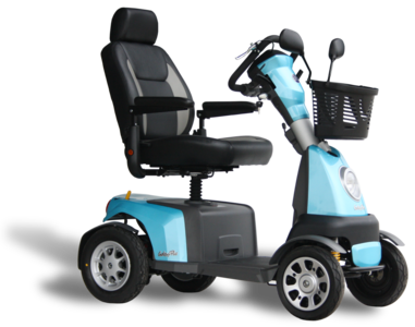 Excel Galaxy plus 4 scootmobiel